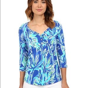 Lilly Pulitzer Palmetto Top Size XS